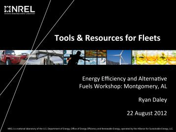 Tools and Resources - Alabama Clean Fuels Coalition