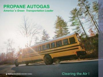 PROPANE AUTOGAS - Alabama Clean Fuels Coalition