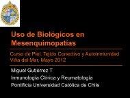 Uso de Biológicos en Mesenquimopatías