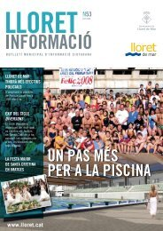 Núm. 53 - Ajuntament de Lloret de Mar