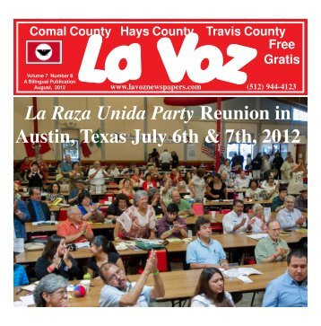 La Voz de Austin August 2012.pmd - La Voz Newspapers