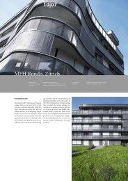 MFH Rondo, Zürich 10|07 - Architektur & Technik