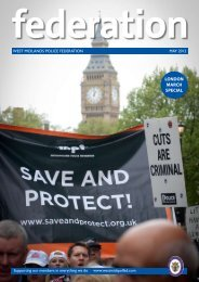 Newsletter - West Midlands Police Federation