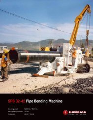SPB 32-42 Pipe Bending machine - Worldwide Machinery