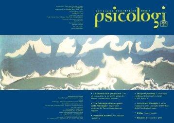 Notiziario n. 3-4/2006 - Ordine degli Psicologi del Lazio