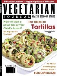 Vegetarian Journal - Issue 2, 2011 - The Vegetarian Resource Group