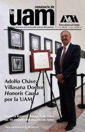 Adolfo Chávez Villasana - UAM. Comunicación Social