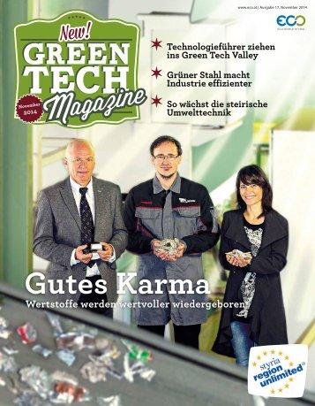 Green Tech Magazine November 2014 deutsch