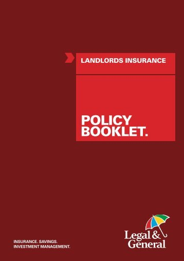 Policy Document - Legal & General
