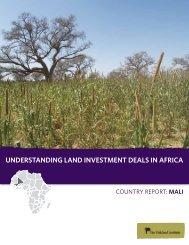UNDERSTANDING LAND INVESTMENT DEALS IN ... - All Africa