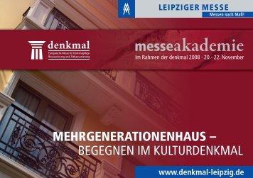Flyer: Messeakademie 2008 - Beuth Hochschule für Technik