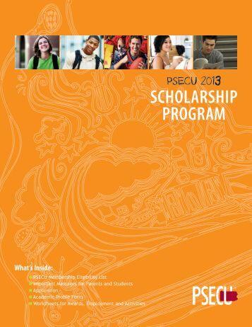 psEcU scholarship program - Daniel Boone Area School District