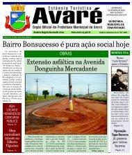 Bairro Bonsucesso é pura ação social hoje - Câmara Municipal da ...