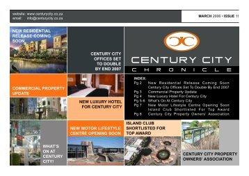 01 March 2006 Newsletter - Century City