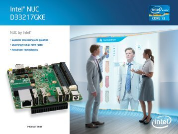 Intel D33217GKE Product Brief