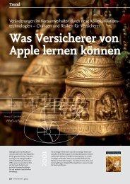 Was Versicherer von Apple lernen können - solutionproviders