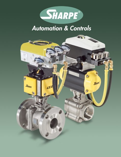Automation & Controls - Sharpe® Valves