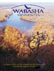 Port Authority Brochure PDF - City of Wabasha