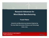 Research Advances for Wind Blade Manufacturing - Sandia ...