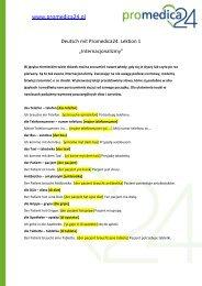 pobierz plik lekcja nr 1 - Promedica24