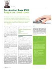 Bring Your Own Device (BYOD) Ready or not…here it ... - I nwoca.or