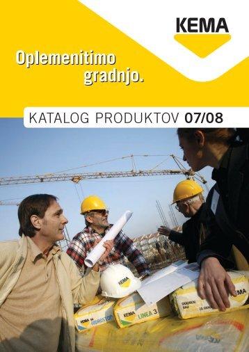 KATALOG PRODUKTOV 07/08 - Kema.si