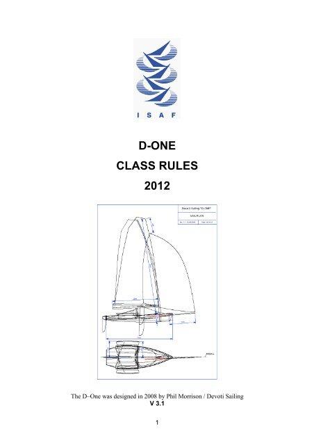 D1 Class Rules-d3 1 - Devoti ONE