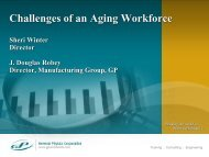 Challenges of an Aging Workforce - UE Systems