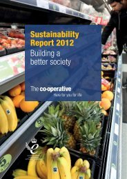 Full Sustainability Report 2012 - The Co-operative