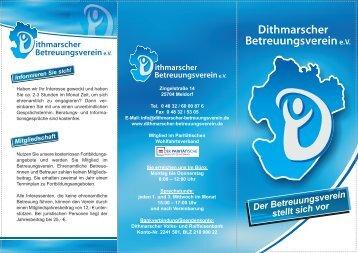 Der Betreuungsverein stellt sich vor - Dithmarscher ...