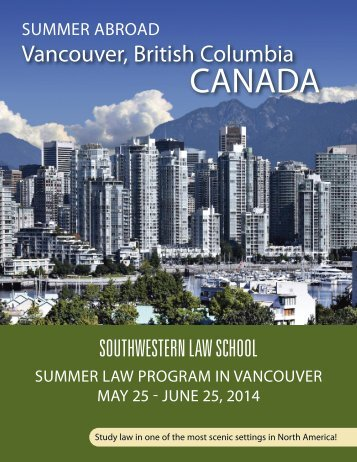 Vancouver, British Columbia, Canada - Southwestern Law School