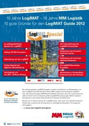 Logimat Guide 2012 - Vogel Business Media