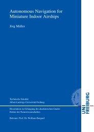 thesis - Albert-Ludwigs-Universität Freiburg