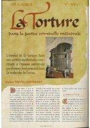La torture dans la justice au Moyen Age