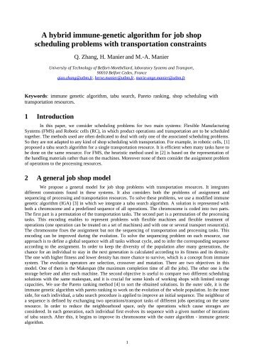 genetic algorithm job shop thesis Java multithreaded genetic algorithm in solving computer science tabu search and genetic algorithms published on the uk essays website then.