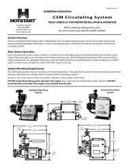 HOTSTART SL130100-100 Engine Heater Weather-tight Coolant preheater with Thermostat Original 1 Year warranty!