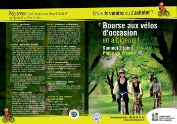3e Bourse aux vélos d'occasion - Albi