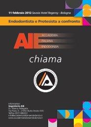 chiama - Accademia Italiana Endodonzia