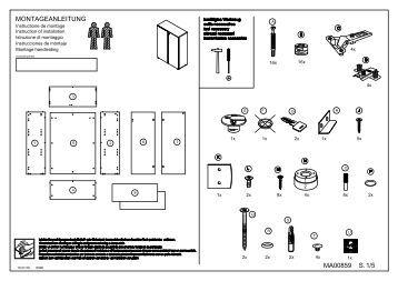 betriebs montageanleitung einbaudaten teckentrup. Black Bedroom Furniture Sets. Home Design Ideas