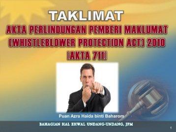 akta 711 - NRE