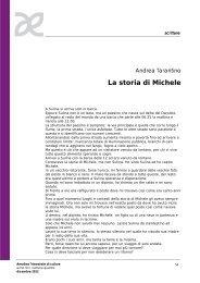 La storia di Michele - Amaltea