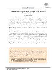 Trattamento antibiotico della pielonefrite nei bambini. Oggi - Recenti ...