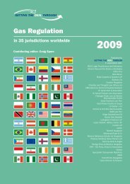 Gas Regulation 2009 - SSEK