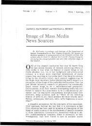 Image of Mass Media News Sources - James C. McCroskey