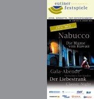 Nabucco - Eutiner Festspiele