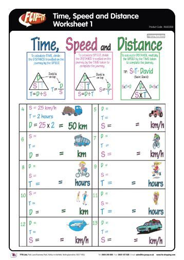all worksheets time distance speed worksheets printable worksheets guide for children and. Black Bedroom Furniture Sets. Home Design Ideas