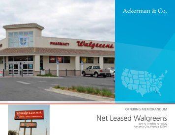 Net Leased Walgreens - Ackerman & Co.
