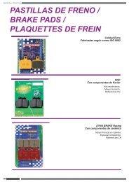 01-l/' avant TRW PLAQUETTE DE FREIN Benelli 491 50 ST ba01 Bj