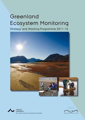 Greenland Ecosystem Monitoring Strategy and Working Programme ...