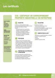 Les certificats - Inpi
